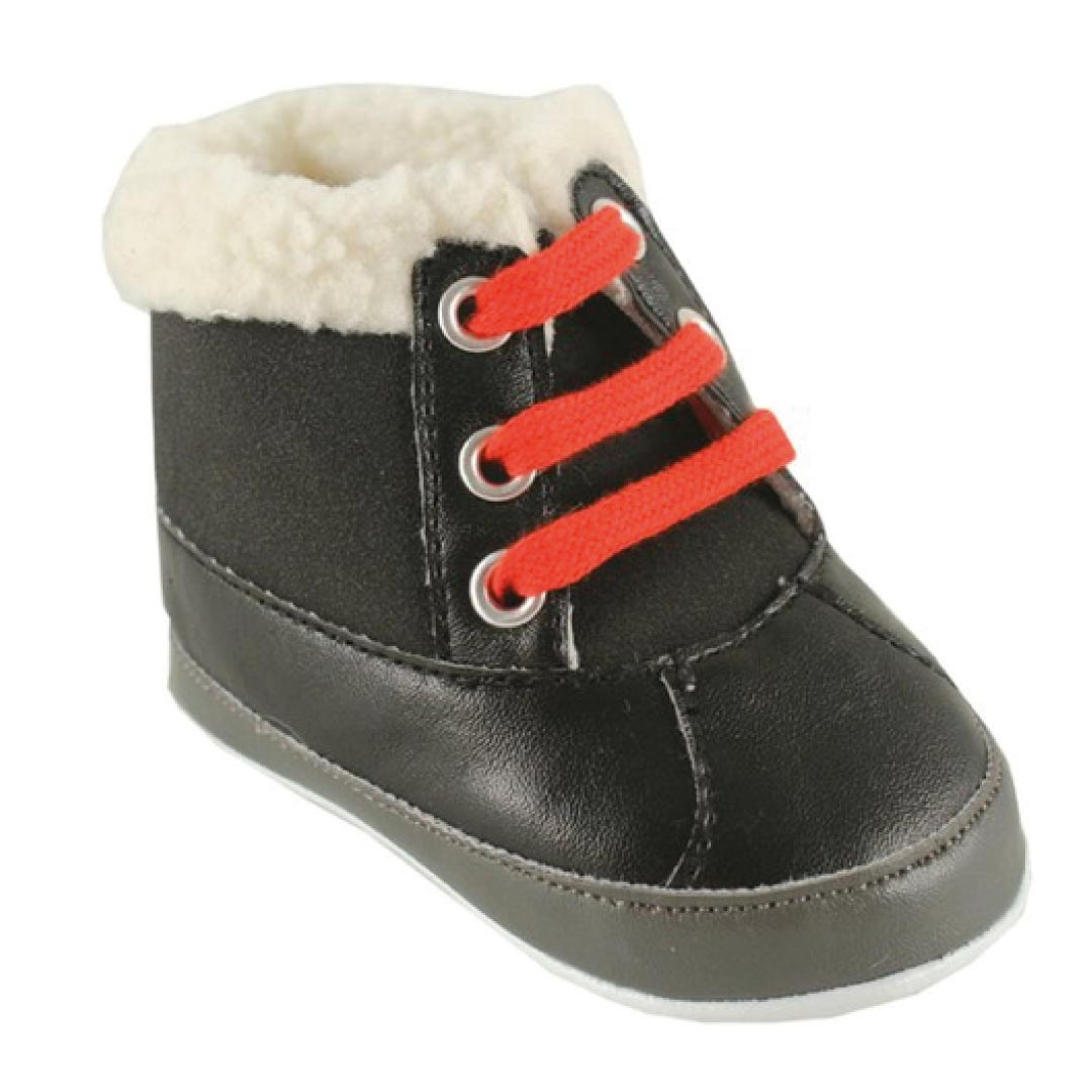luvable friends baby faux suede winter bootskids world shoes