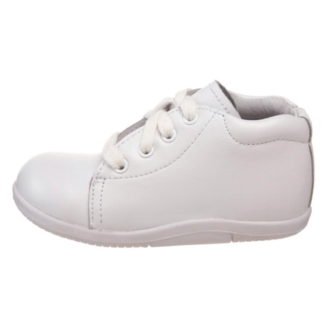 Stride Rite Infant Shoes White High Top Walking