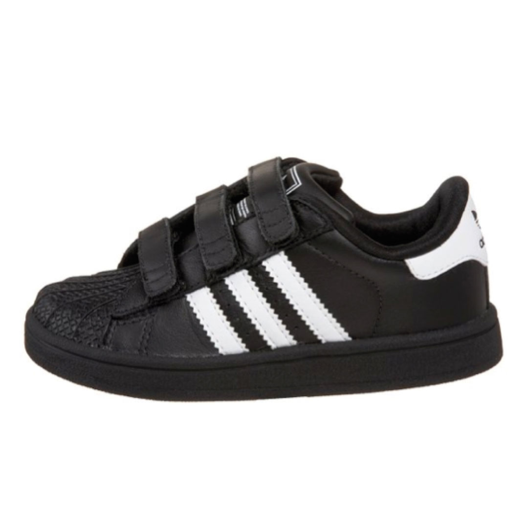 adidas Superstar II Men Sneakers Black/White/Red