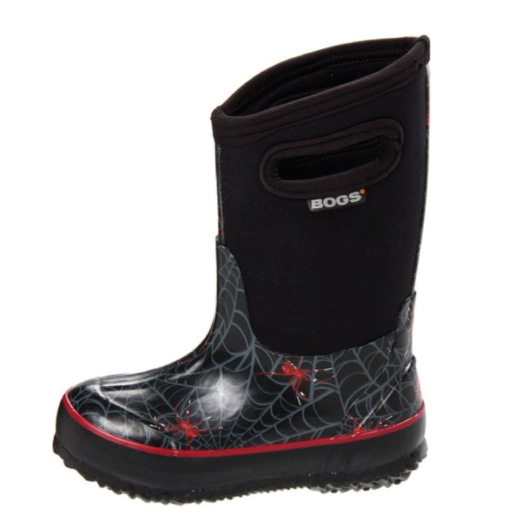 Bogs Classic High Spiders Rain Boot (Toddler/Little Kid ...