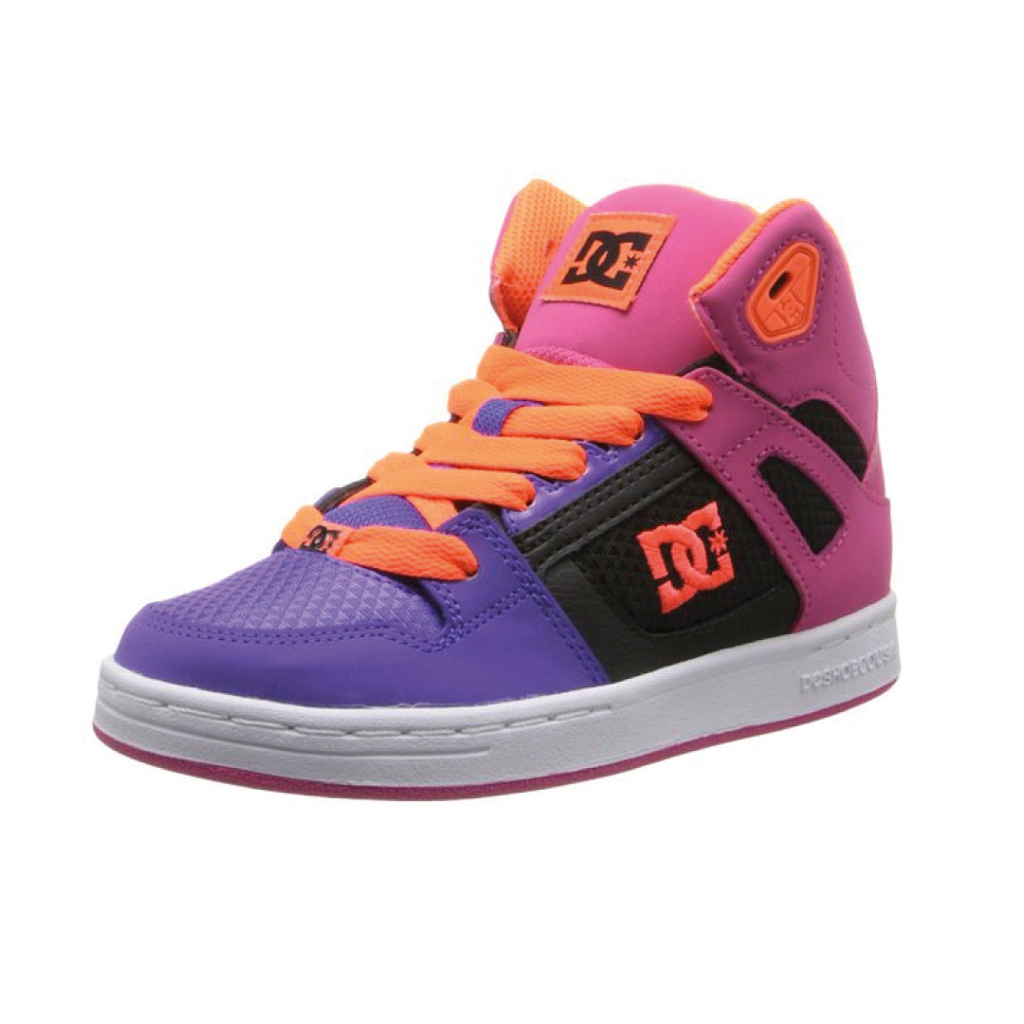 DC Rebound Skate Shoe (Little Kid/Big Kid) - Kids World ShoesKids ...