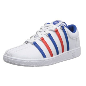 K-Swiss-501-Classic-Tennis-Shoe-(Little-Kid)-white-blue-red