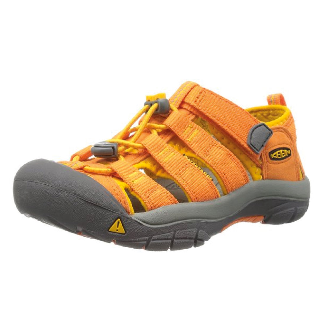 Keen Newport H Big Kid Black Lime