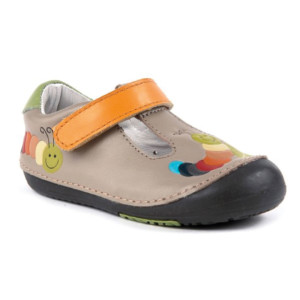 Momo-Baby-First-Walker-Toddler-Rainbow-Caterpillar-T-Strap-Leather-Shoes