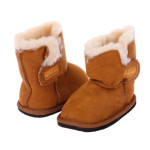 NINO-Infants-Genuine-Suede-Shearling-EVA-outsole-Boots-chestnut