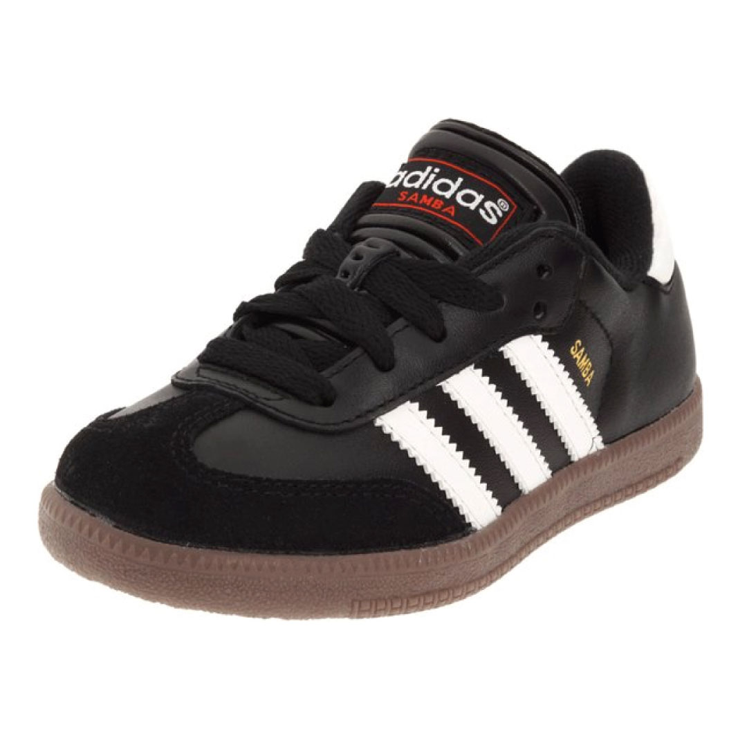 adidas Samba Classic Leather Soccer Shoe (Toddler/Little ...
