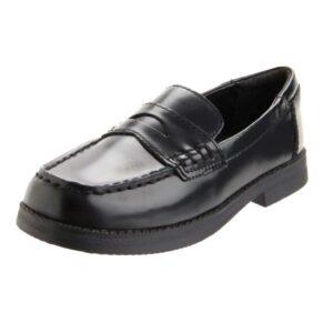 Kenneth-Cole-Reaction-Loaf-er-Penny-Loafer-(Little-Kid-Big-Kid)-black