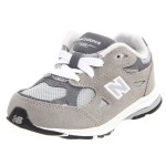New-Balance-KJ990-Lace-Up-Running-Shoe-(Infant-Toddler)-grey