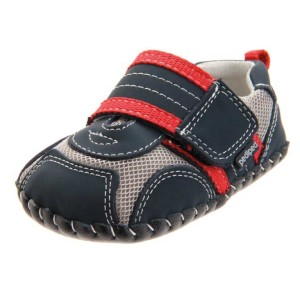 pediped-Originals-Adrian-Sneaker-(Infant)-navy-grey-red