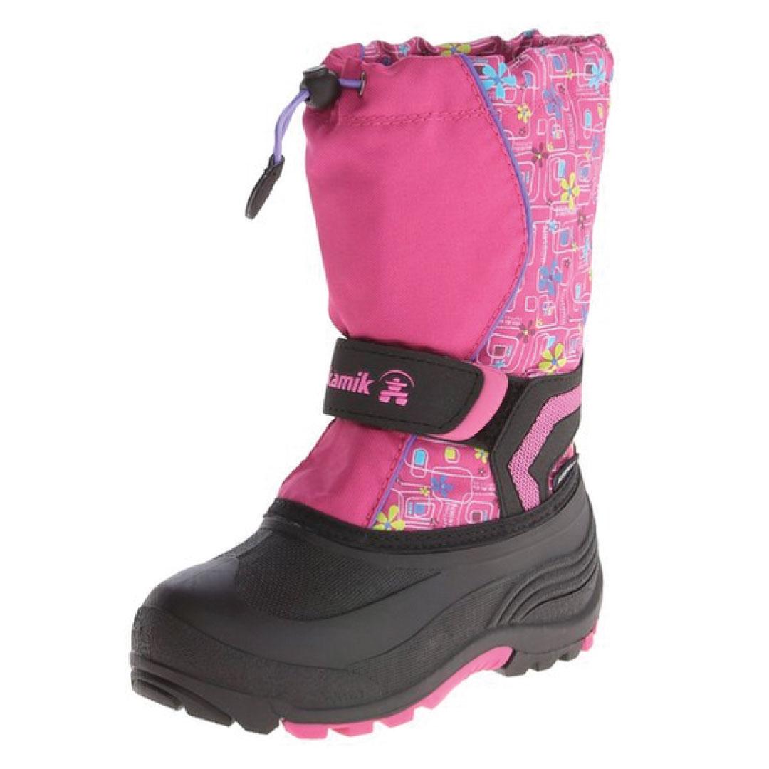Kamik Footwear Kids Snowbank Insulated Snow Boot (Toddler