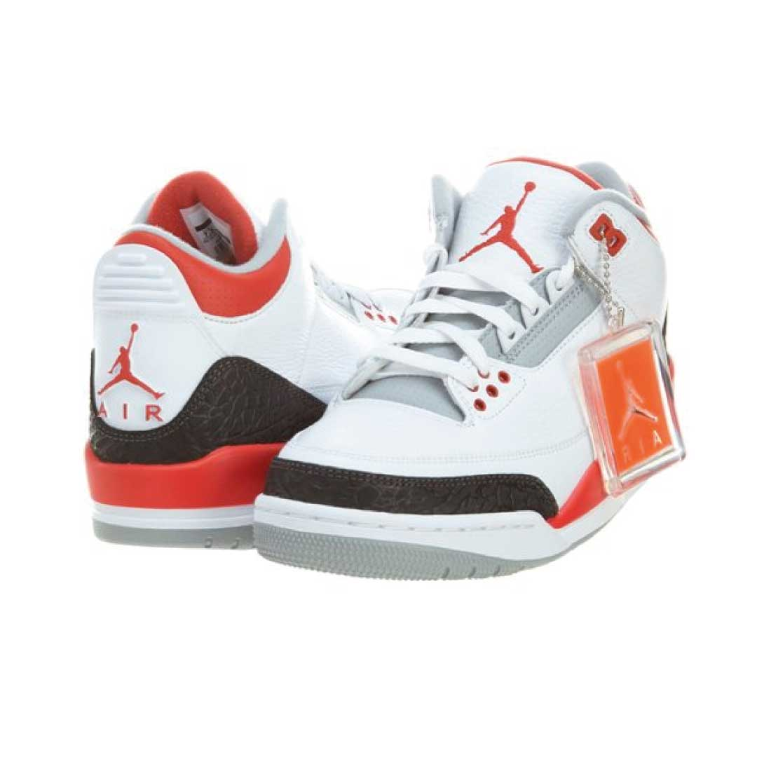Nike Mens Air Jordan Retro 3 OG Basketball Shoes