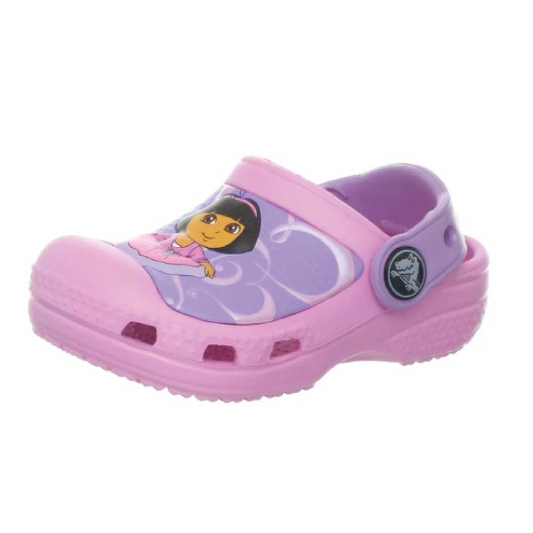 eaa419fd7d5f crocs Girls  CC Dora Ballet ClogKids World Shoes
