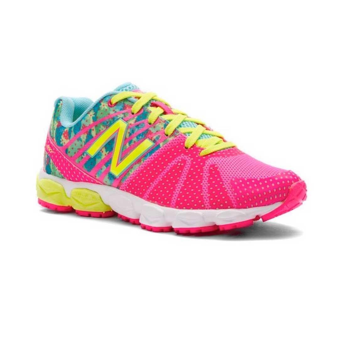 New Balance KJ890 Grade Lace-Up Running Shoe ...