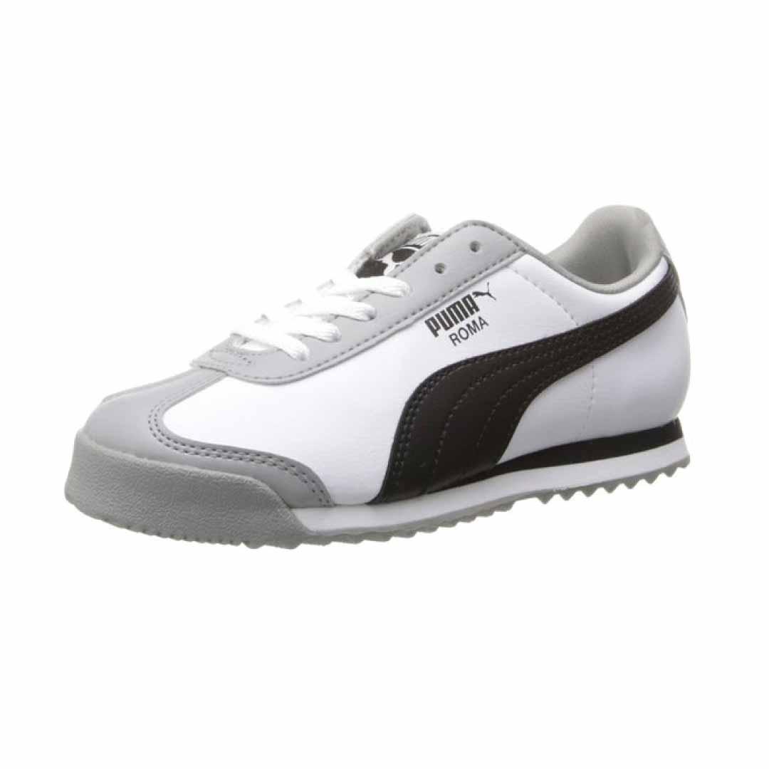 Niños Grandes Zapatos Puma Blancas CUul3