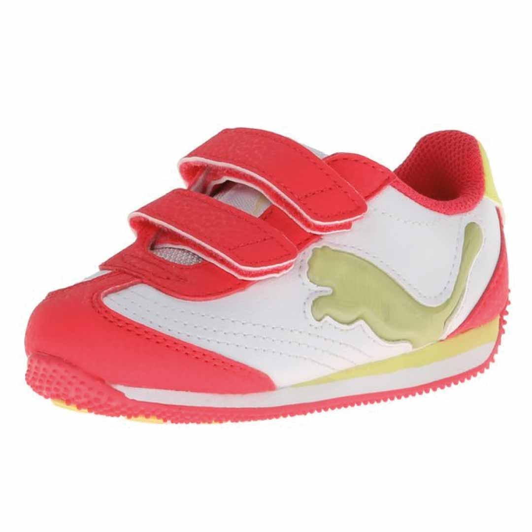 puma speeder illuminescent v light-up sneaker pink