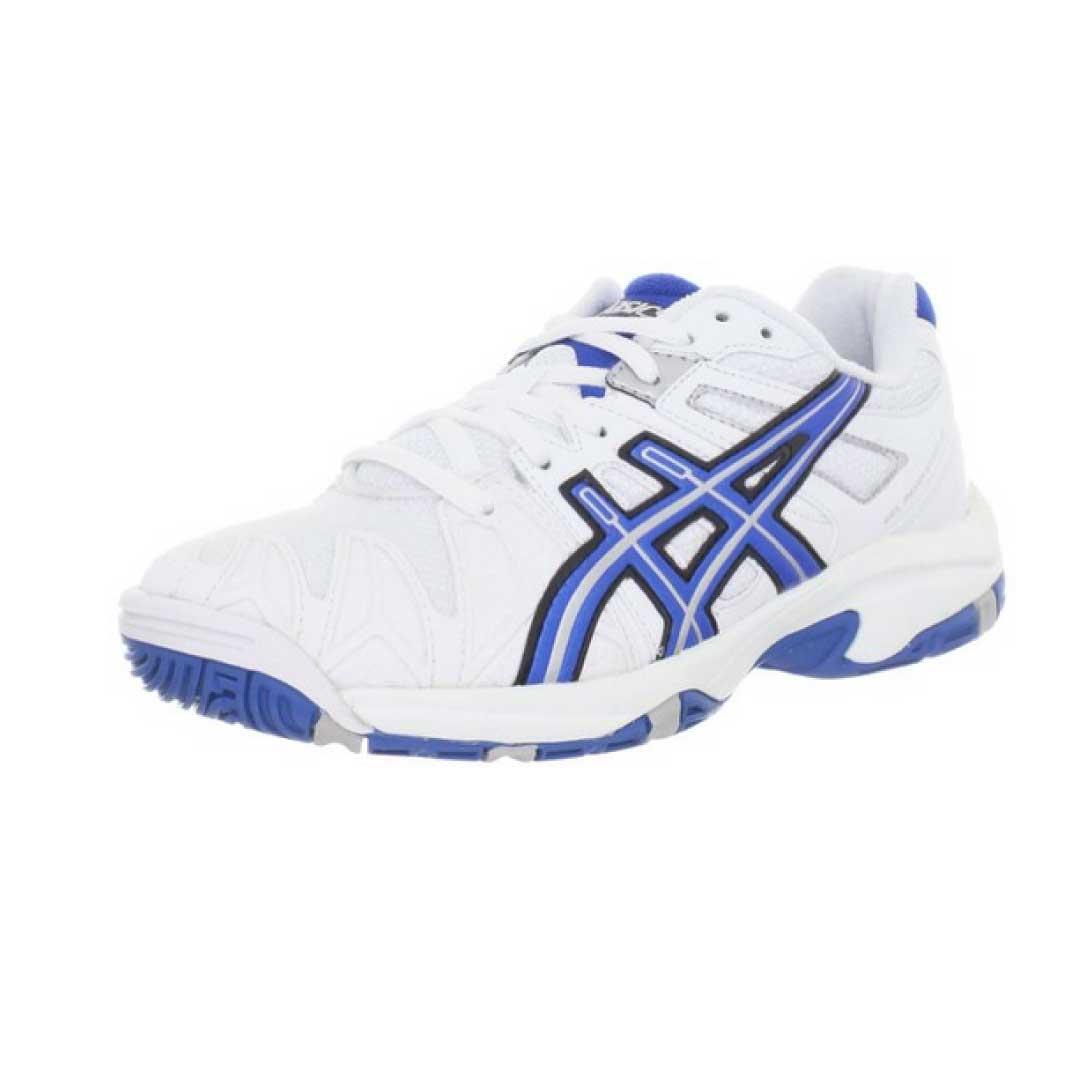 Asics White Girl Black And White Tennis Shoes