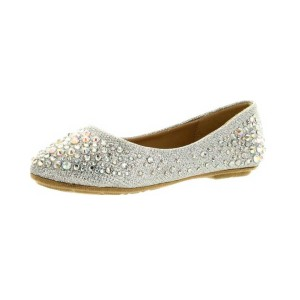 Forever-Link-Girls-Rhinestone-Studded-Slip-On-Ballet-Flats