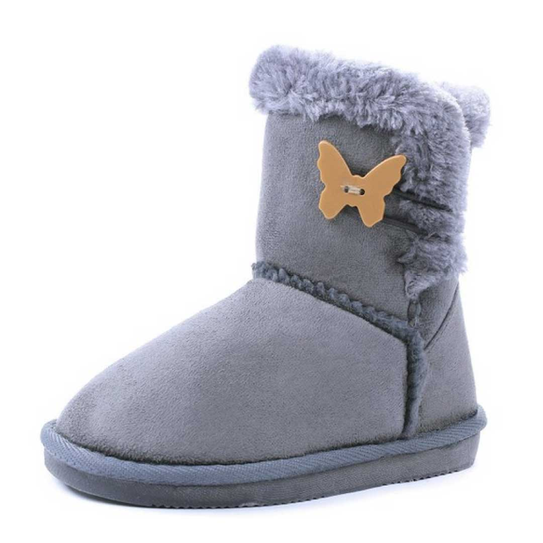Kids Faux Fur Lined Butterfly/Amy Botton Shearling Winter