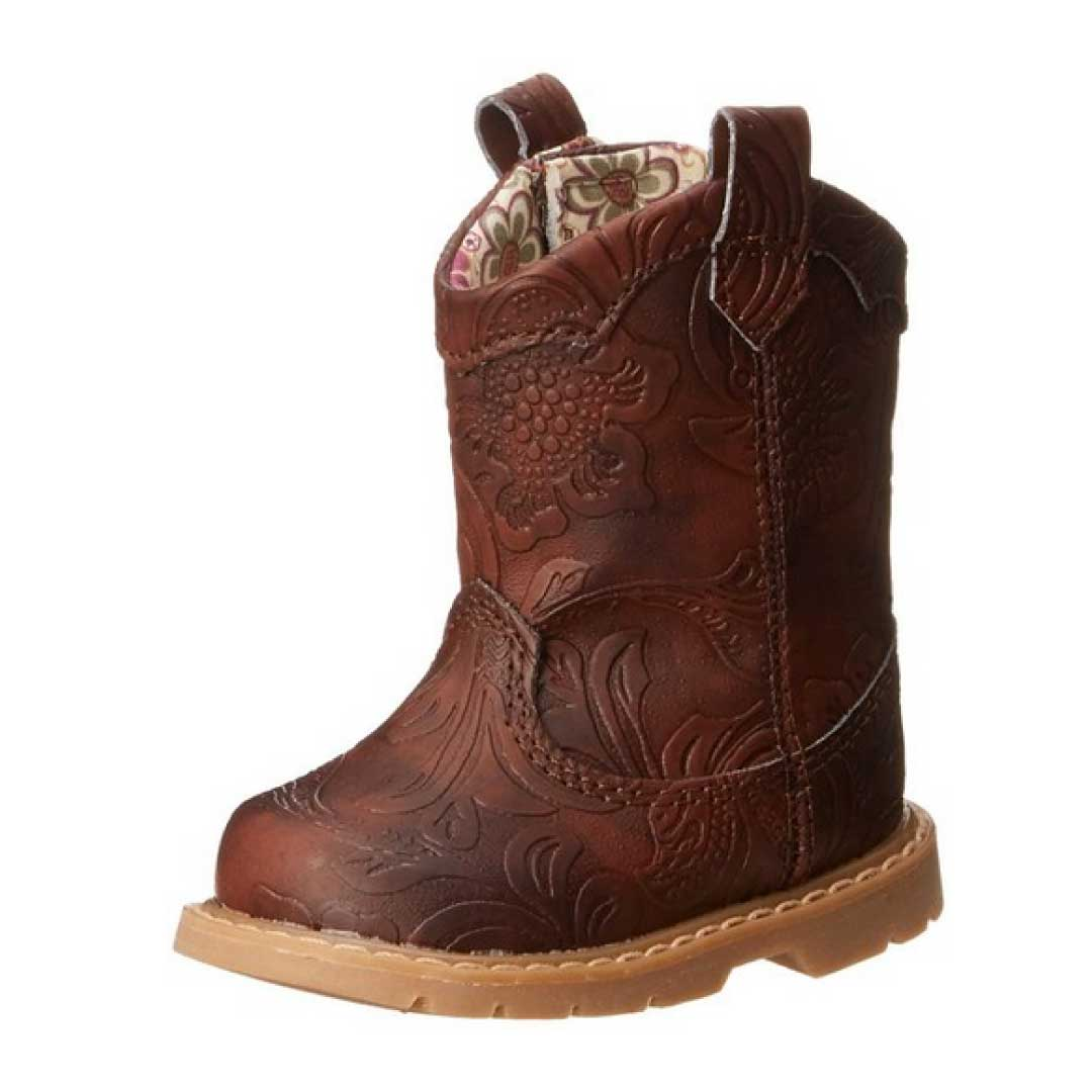Natural Steps Gloss Western Style Boot Kids World