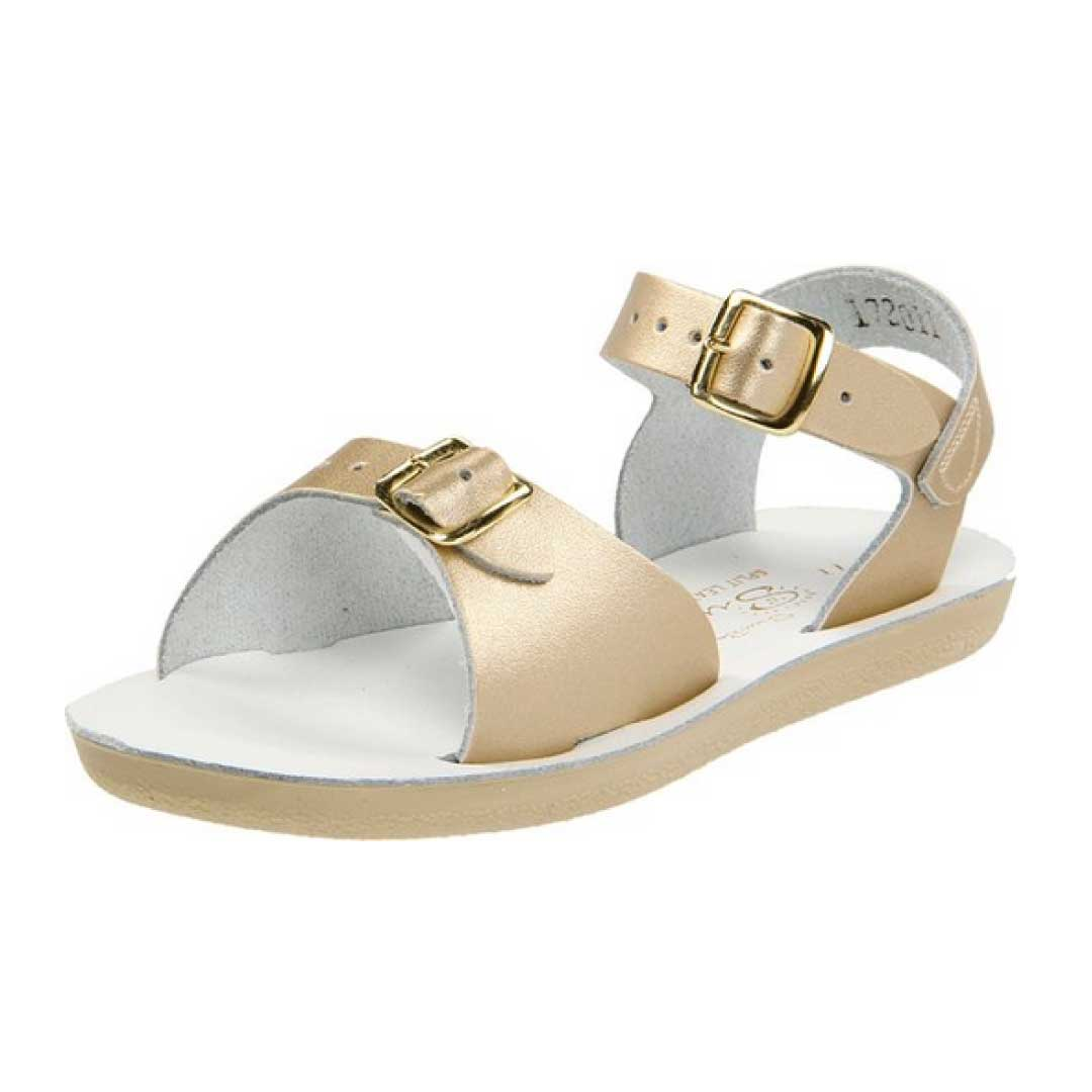 Water Shoes. Sandals are great for the beach but there is an issue of them staying in the water and sand. Avoid losing a shoe wearing water shoes. They provide the same openness of a sandal but fit snug around your feet at you play in the sandy waters.