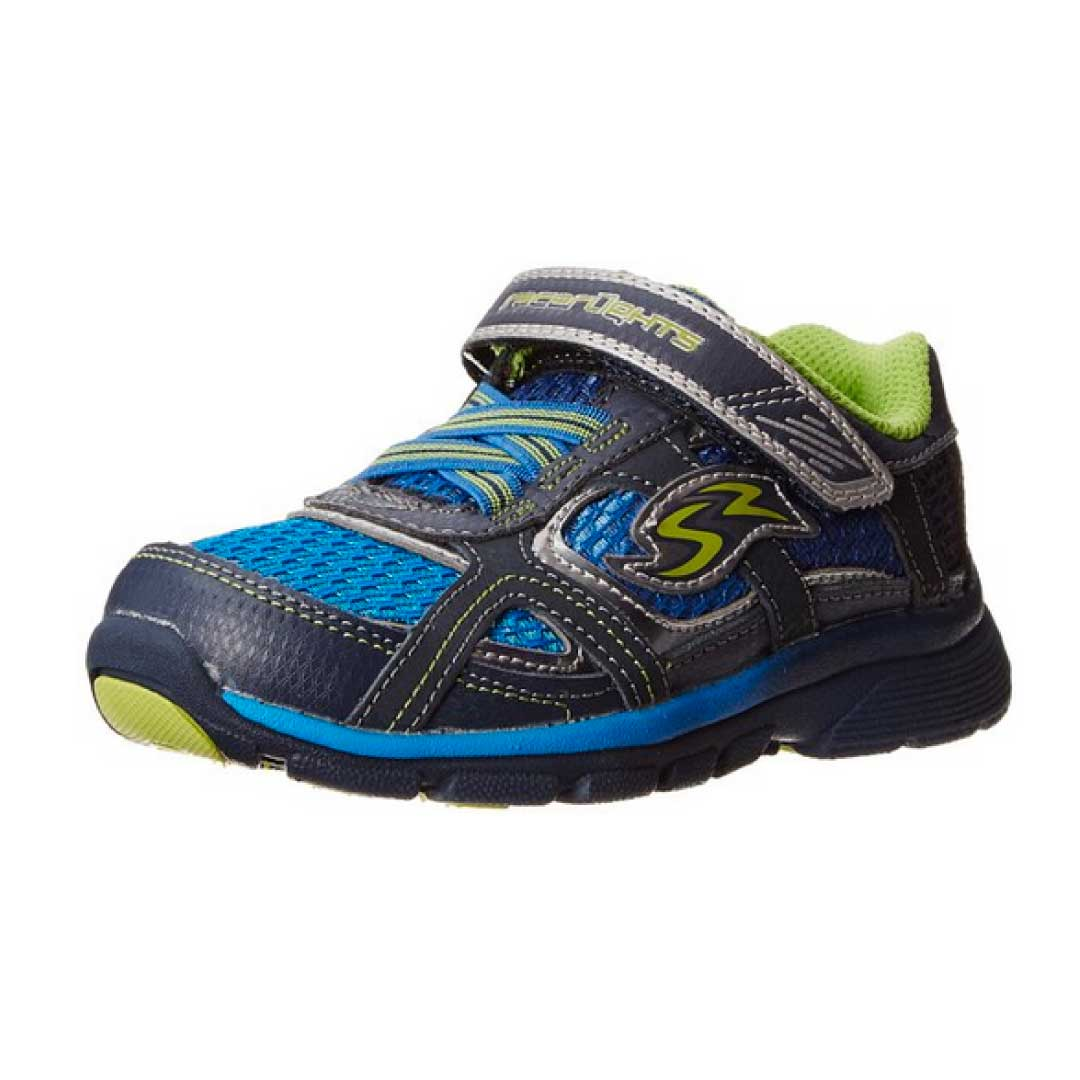 Stride Rite Racer Lights Lightning Toddler Little Kid