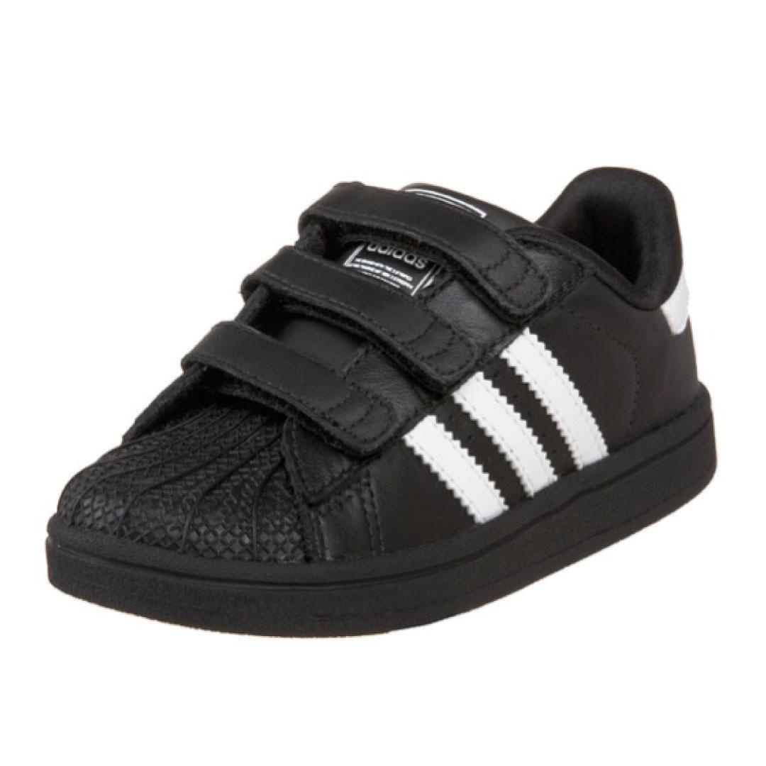 adidas Originals Superstar 2 Comfort Sneaker (InfantToddler) Kids World Shoes