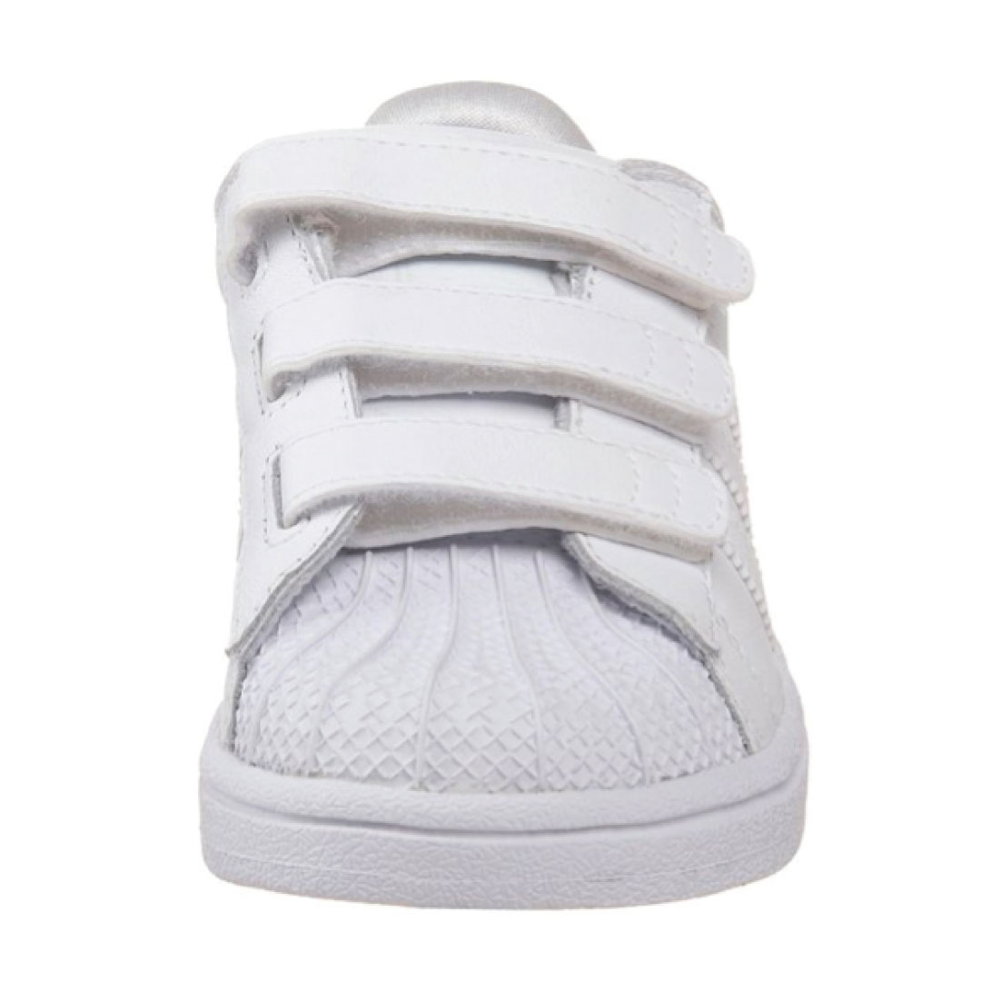 new style 5cf66 e93ae adidas Originals Superstar 2 Comfort Sneaker (Infant/Toddler) - Kids World  Shoes
