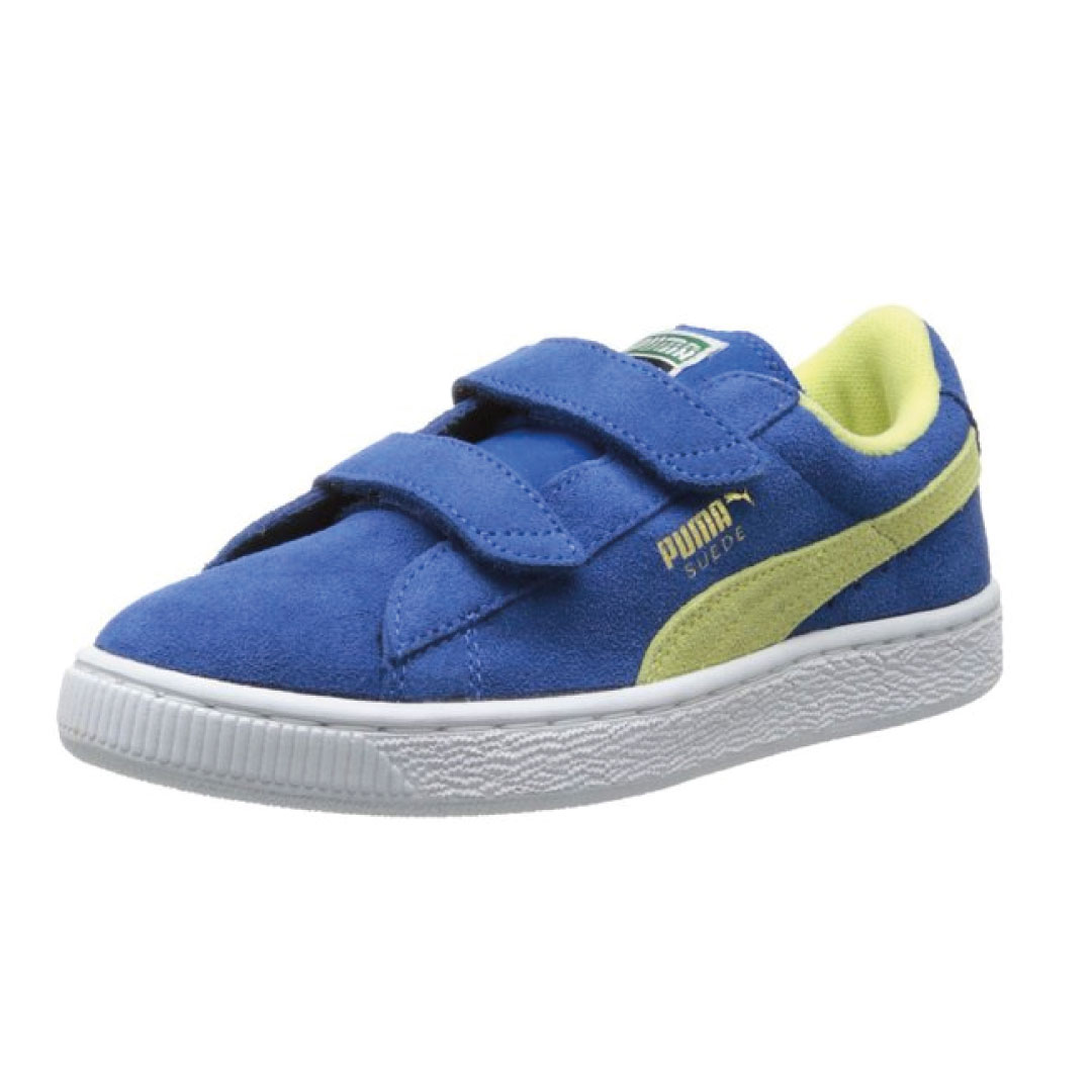 new product ba389 1132f PUMA Suede Classic 2-Strap Sneaker (Toddler/Little Kid/Big Kid) - Kids  World Shoes