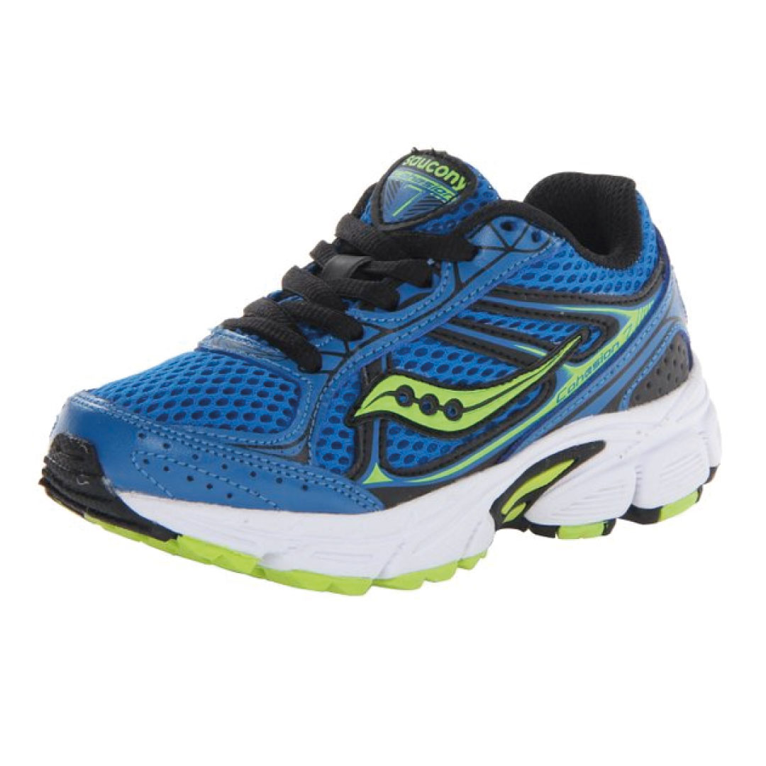 Saucony Boys Cohesion 7 Lace Running Shoe (Little Kid/Big