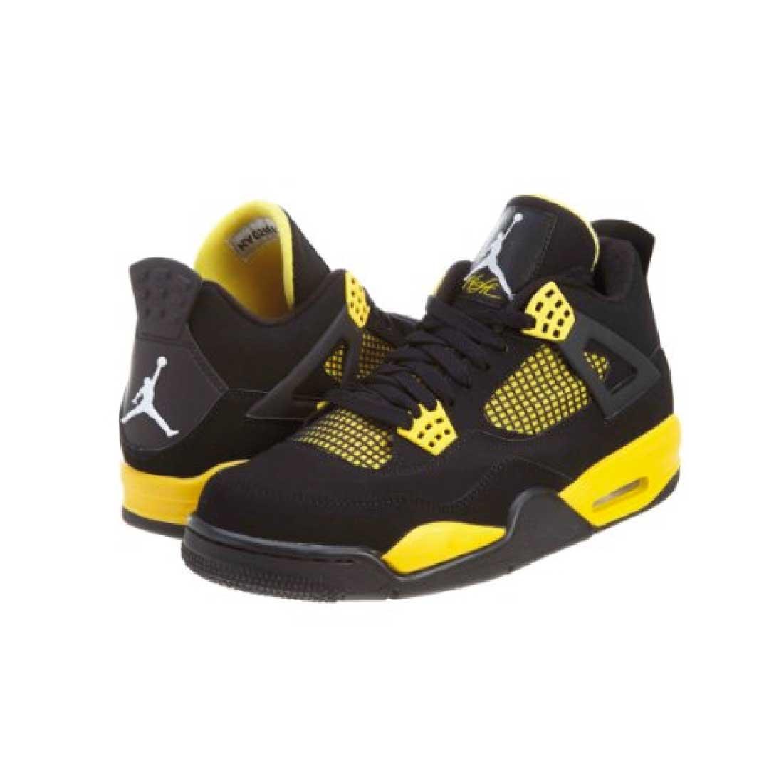 2e52afdb2cf6f Nike Jordan Kids Air Jordan 4 Retro Bg Basketball Shoe