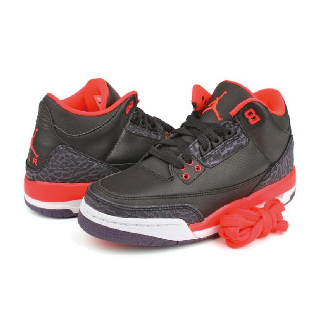 buy online cfea1 9705d Nike Men's Air Jordan III Retro Infrared 23 Baskeball Shoe